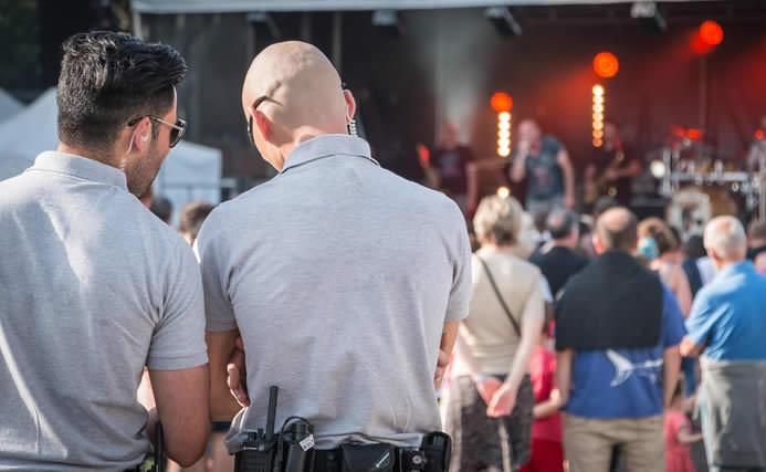 concert security guard